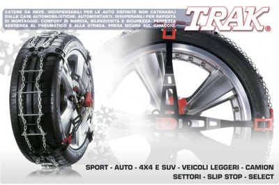 Snow chains cars