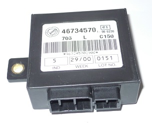 Electronic control unit Code