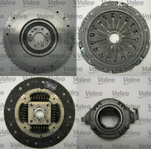 Clutch Set with Flywheel-Citroen-Peugeot Fiat / 2,0 JTD-2, 0 Hdi