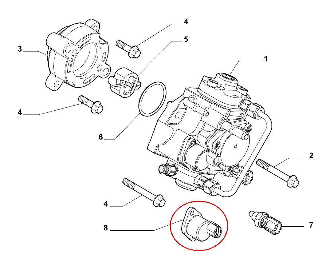 Area Ricambi Auto Parts And Accessories Moto Bike Pressure Fiat Fuel Diagram Sensor Ducato